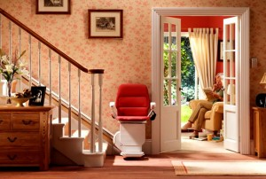 Chairlifts are now a common feature in many homes